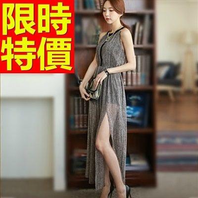 洋裝-長袖時尚焦點個性韓版連身裙61a36[巴黎精品]