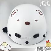 KK雪帽 附鏡片|23番 KK 825 角落小夥伴3 白熊大臉 正版卡通授權 角落生物 半罩安全帽