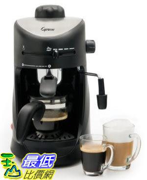 [美國直購 ShopUSA] 咖啡機具用品 新款全新 Capresso 303.01 Mini-S 4-Cup Safety Espresso/Cappuccino_U3