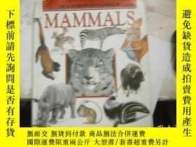 二手書博民逛書店THE罕見ILLUSTRATED ENCYCLOPEDIA OF MAMMALS (大16開全彩)Y4849