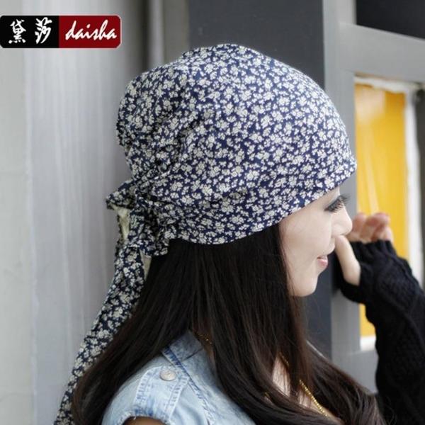 頭巾帽頭巾女三角巾化療帽子女薄光頭海盜帽成人春秋韓版潮街舞帽廚師帽 喵小姐