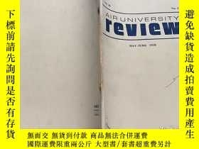 二手書博民逛書店AIR罕見UNIVERSITY REVIEW (MAY-June 1979)Y184629