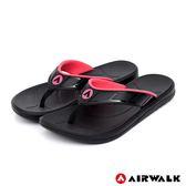 【AIRWALK】A0夾腳拖鞋-女款-黑