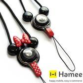 Hamee iFACE 正版 迪士尼防丟吊繩 米奇 米妮 日本 快拆防摔 可愛造型便利手機胸卡掛帶掛繩