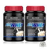 【加拿大ALLMAX】奧美仕ALLWHEY CLASSIC經典乳清蛋白香草口味飲品2瓶 (907公克*2瓶)