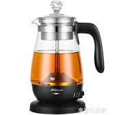 黑茶煮茶器小型全自動蒸汽辦公室專用家用噴淋式蒸茶器養生煮茶壺-220V-享家