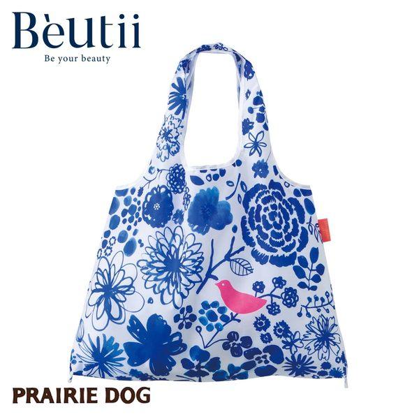 日本 Prairie Dog 設計包 青花瓷 日本插畫家 精心設計 方便攜帶 收納方便 雙層布料 提升耐用度