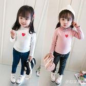 中大尺碼女童長袖T 新款女童秋裝上衣女寶寶長袖洋氣兒童打底衫小女孩娃娃衫 FR242『夢幻家居』