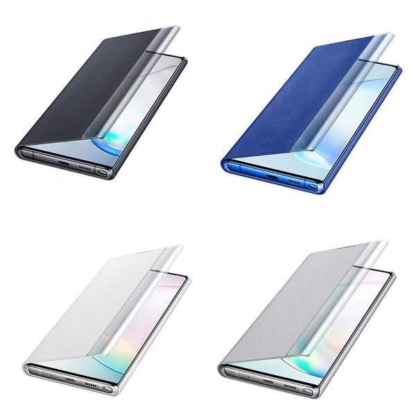 【免運費】Samsung Note10+ 原廠全透視感應皮套