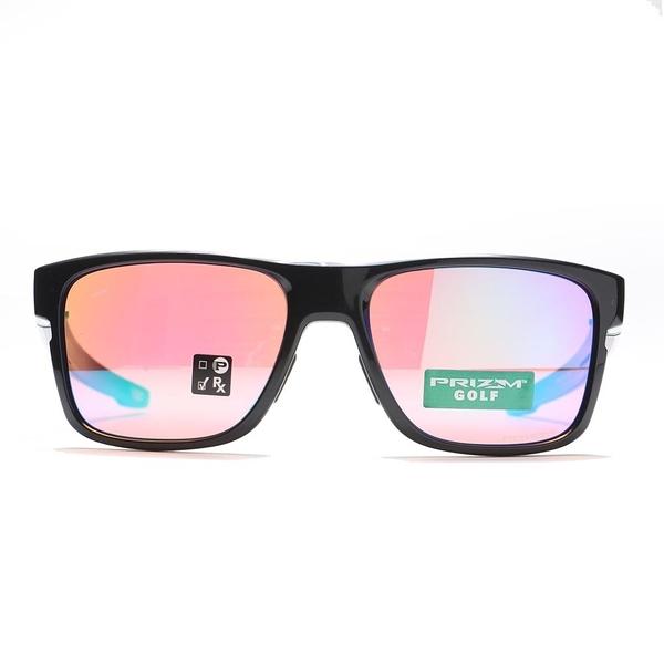 OAKLEY 太陽眼鏡 EVZERO CROSSRANGE POLISHED 炫紫 黑框 亞洲版 PRIZM色控科技 極致輕 (布魯克林) OAKOO93711257