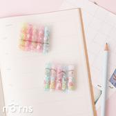 日貨角落生物鉛筆筆蓋組- Norns 日本進口文具 讀書學習篇 草莓咖啡店 原木鉛筆筆蓋