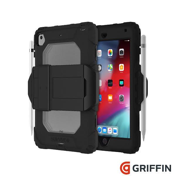 【唐吉】Griffin Survivor All-Terrain iPad mini (2019) / iPad mini 4 軍規三層防護保護套組