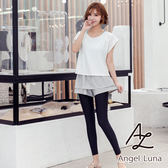 比基尼泳裝-日本品牌AngelLuna 現貨 水藍背心四件式溫泉沙灘泳衣