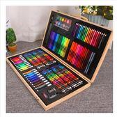 兒童畫畫筆繪畫套裝小學生水彩筆學習文具美術用品女孩生日禮物盒【快速出貨】