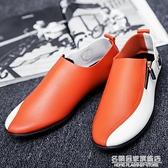 2021春季社會小伙韓版休閒男鞋男士駕車豆豆鞋百搭英倫學生潮鞋 名購新品