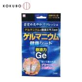 日本 KOKUBO小久保 鍺樹液貼(2入) 足部貼片 舒緩 腳底 局部護理 保養 貼布