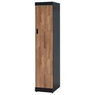 【森可家居】雙色積層1.3尺高衣櫥 10SB612-3 細長窄型衣櫃 工業風 MIT 台灣製造