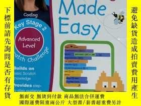 二手書博民逛書店scratch罕見challenge made easy advanced level兒童讀物 英文版Y424