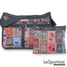 LeSportsac - Standard雙口袋A4大書包-附化妝包 (集郵冊) 7507P F409