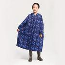 [MORR]Portable兒童雨衣/藍/無塑化劑/可收納/連身雨衣/登山/通勤/機車