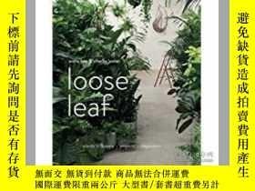 二手書博民逛書店Loose罕見Leaf: Plants Flowers Proj