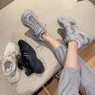 老爹鞋 老爹鞋女潮夏季新款透氣厚底松糕運動鞋-Ballet朵朵