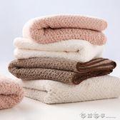 2條裝好溪子日系菠蘿格洗臉吸水毛巾擦頭髮速幹情侶款幹髮巾毛巾 西城故事