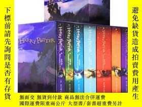 二手書博民逛書店哈利波特原版書籍英文罕見全集 Harry Potter哈里波特