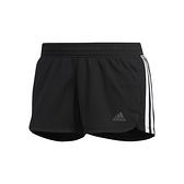 Adidas PACER 3S KNIT 女 黑 三條線 運動 慢跑 短褲 DU3502