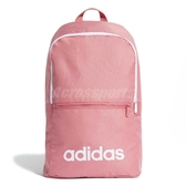 adidas 後背包 Linear Classic Daily Backpack 粉紅 白 男女款 運動休閒 【PUMP306】 ED0292