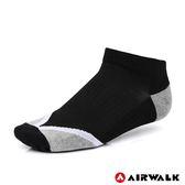 AIRWALK 運動踝襪 黑 A825350020 鞋全家福