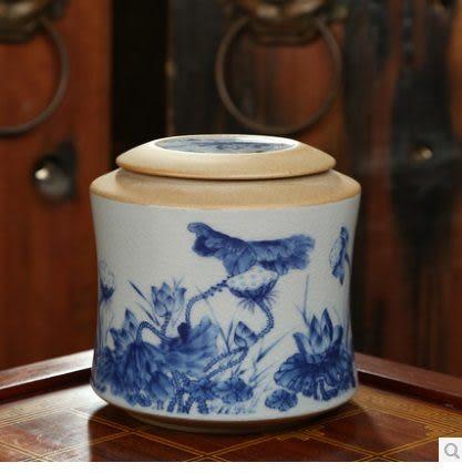 步步蓮升方罐密封大碼紫砂茶葉罐(步步蓮升2)