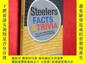 二手書博民逛書店Steelers罕見Facts and Trivia: Mill