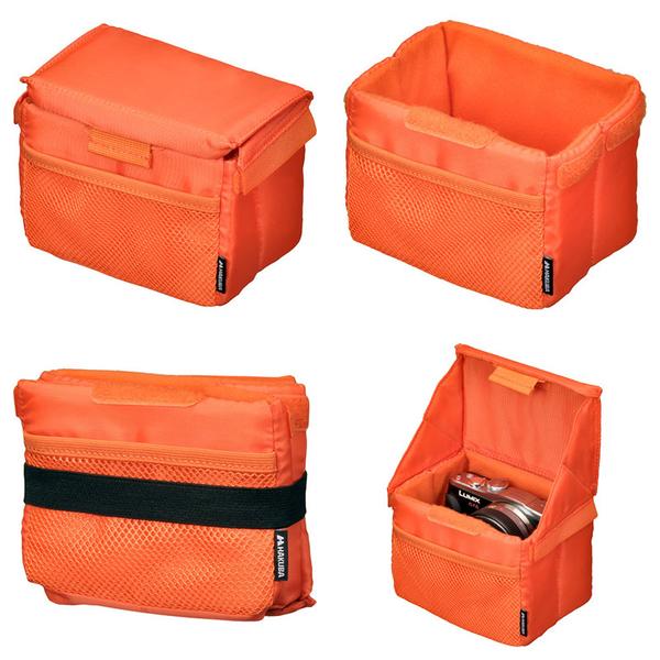 ◎相機專家◎ HAKUBA FOLDING INNER SOFT A款 橘色 相機內袋 內套 公司貨 HA33653CN
