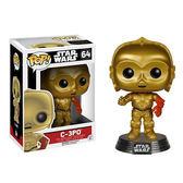 Funko POP!系列 Q版 星際大戰7 原力覺醒 Star Wars VII C-3PO 64