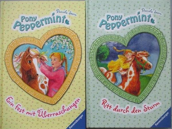 【書寶二手書T8/原文小說_FU7】Pony Peppermint-Ritt durch den Sturm等_2本合售