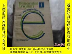二手書博民逛書店Essential罕見English 1-4 (for Fore