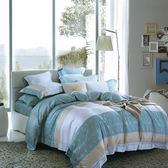 【Indian】100%純天絲加大七件式床罩組-芒草
