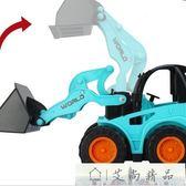兒童遙控車挖掘機推土機電動玩具車可充電