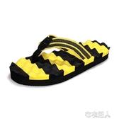 夏季人字拖男拖鞋潮男士涼鞋防滑軟底夏天室外穿夾腳沙灘涼拖大碼 布衣潮人