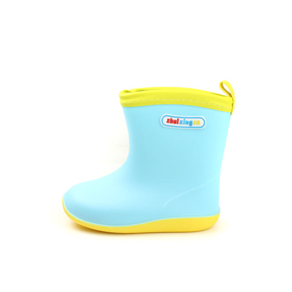 防水 雨靴 雨鞋 小女生鞋 藍色 中童 童鞋 S012-35 no022
