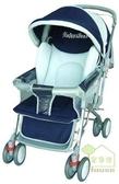 [家事達] Mother's Love  880 雙向加寬 全罩嬰兒手推車-籃色~   特價