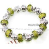 手鍊 潘朵拉元素串珠-琉璃飾品生日情人節禮物可愛流行925純銀飾品72l204【時尚巴黎】