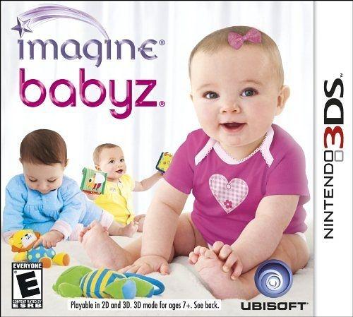 3DS Imagine Babyz 3D 想像寶貝 3D(美版代購)