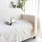 簡約沙發巾全蓋 防滑雙人座沙發毯套毯子 歐式田園布藝沙發罩加厚 設計師生活百貨