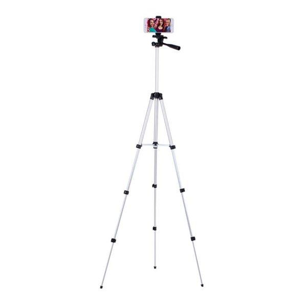 鋁合金相機手機三腳架拍照自拍攝影DV卡片通用三角支架夾wy