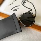 哈哈袋 皮革眼鏡袋 眼鏡收納袋 太陽眼鏡收納袋 攜帶方便不占空間 高質感眼鏡袋