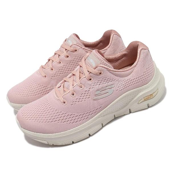 Skechers 健走鞋 Arch Fit Big Appeal 女鞋 粉 白 足科醫師推薦 運動鞋【ACS】 149057LTPK