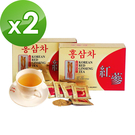 金蔘-6年根韓國高麗紅蔘茶(100包/盒...