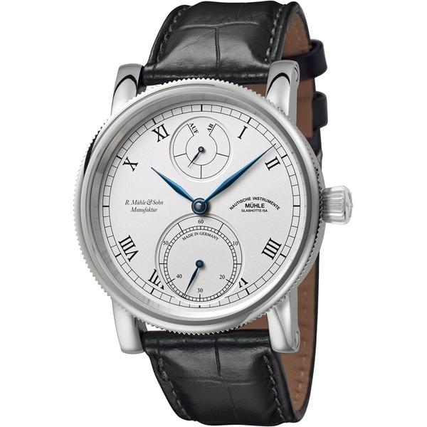 ★德國高級腕錶品牌★格拉蘇蒂-莫勒Muehle-Glashuette Classical-M1-11-15-LB-錶現精品-原廠正貨